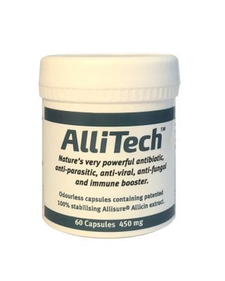 AlliTech 60 Capsules 450 mg from Dulwich Health