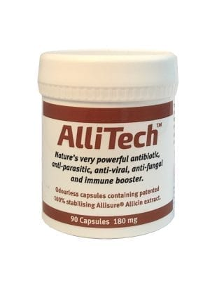 AlliTech 90 Capsules 180 mg from Dulwich Health