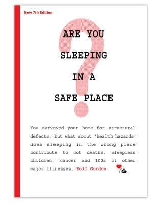 Are You Sleeping In A Safe Place By Rolf Gordon - Front Cover