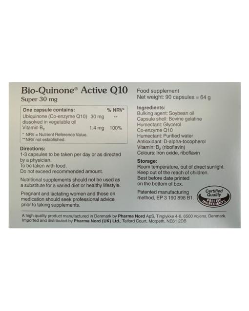 Pharma-Nord-Bio-Quinone-Q10-Super-30mg 50% Extra Free