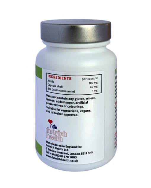 VitTech Vitamin B12 side