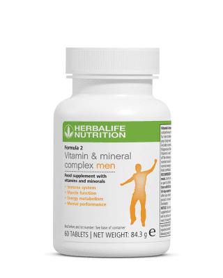 Herbalife Vitamin + Mineral Complex Man