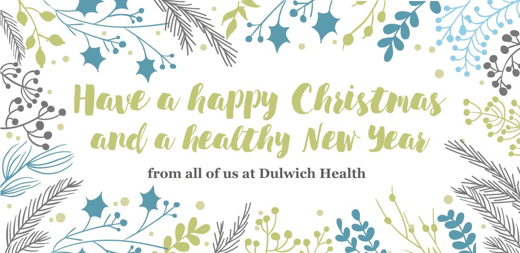 Dulwich Health Christmas message