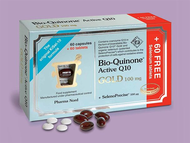 Pharma Nord Bio QuinoneQ10 Gold+Selenium from Dulwich Heath