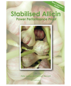 Stabilised Allicin Book by Peter Josling from Dulwich Health