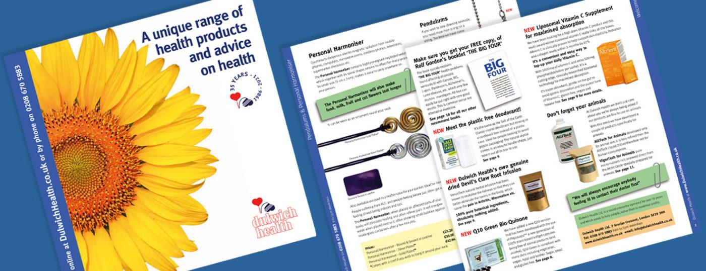 Dulwich Health New 2021 Catalog